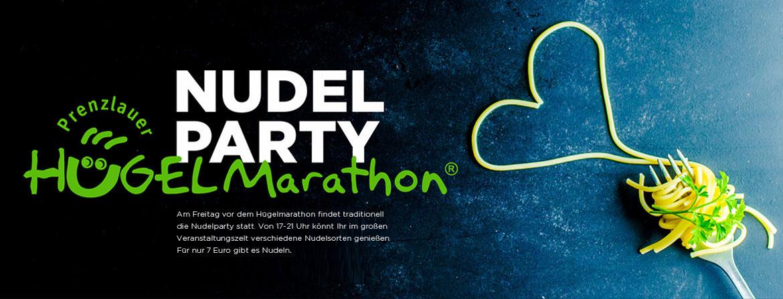 Hügelmarathon Nudel Party